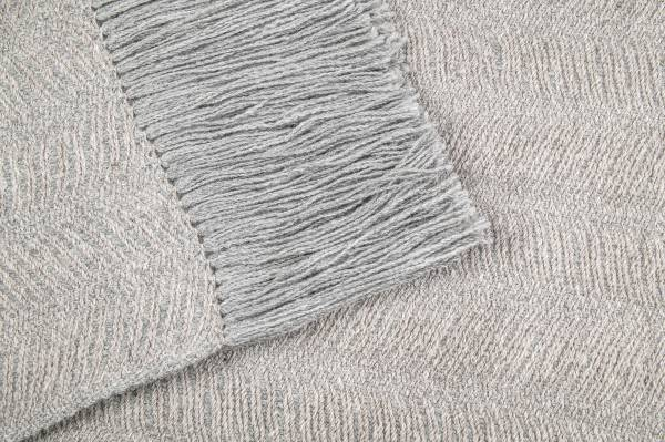 Alpaca Shawl Sand & Gray
